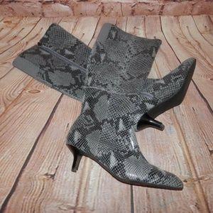 Rockport Adidas Faux Snake Print Adriprene Boots